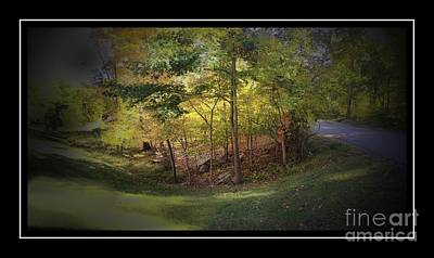 Photograph - My Woodlands Ver 3 by Larry Mulvehill