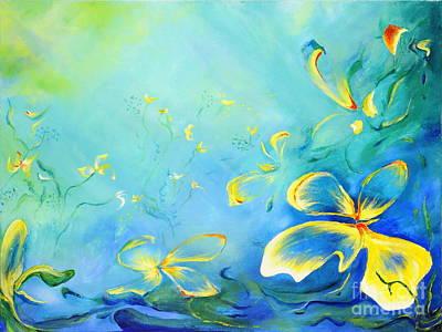Painting - My World by Teresa Wegrzyn