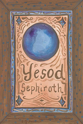 Painting - My Yesod by Sheri Jo Posselt