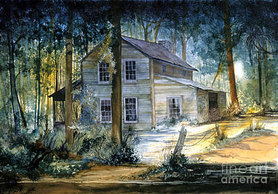 Painting - Myakka House by Douglas Teller