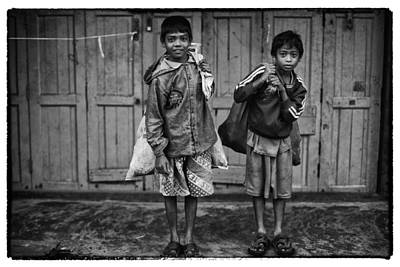 Front View Photograph - Myanmar Lost In Time 21 by David Longstreath