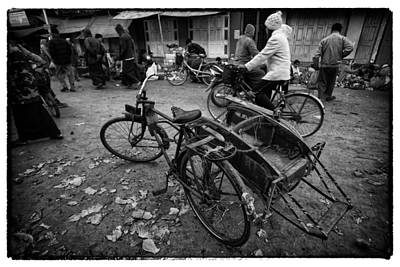 Myanmr Lost In Time 1 Print by David Longstreath