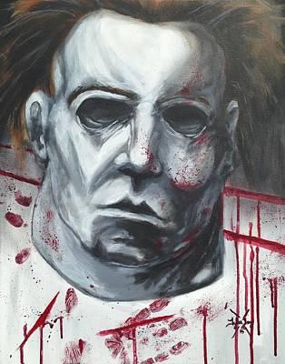 Myers Halloween Art Print