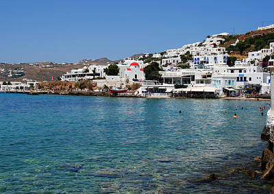 Photograph - Mykonos Beach by Robert Moss