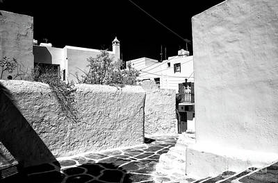 Photograph - Mykonos Dimensions Infrared by John Rizzuto