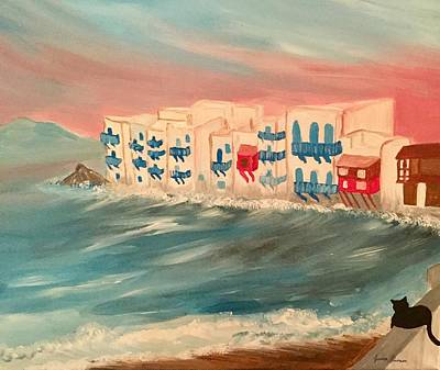 My Art Painting - Mykonos  by My Art