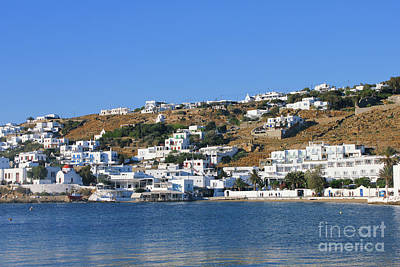 Photograph - Mykonos Town by Donna Munro