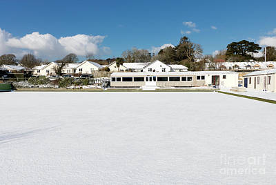Photograph - Mylor Bridge Bowling Club by Terri Waters