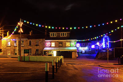 Photograph - Mylor Bridge Shop, Tremayne Hall And Old School House by Terri Waters