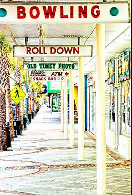 Photograph - Myrtle Beach Game Room by Bob Pardue