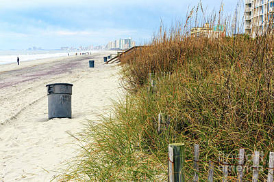 Photograph - Myrtle Beach In The Distance by John Rizzuto