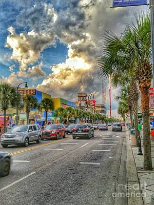 Photograph - Myrtle Beach - Ocean Blvd by Tony Baca