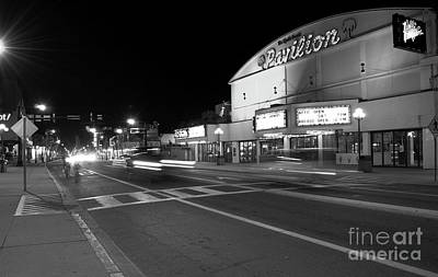 Photograph - Myrtle Beach Pavilion Nights Bw by Bob Pardue