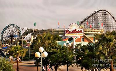 Photograph - Myrtle Beach Pavillion Amusement Park by Bob Pardue
