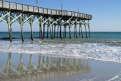 Photograph - Myrtle Beach Pier by MM Anderson