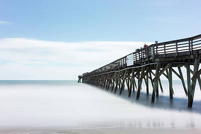 State Park Photograph - Myrtle Beach State Park Pier by Ivo Kerssemakers