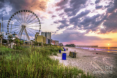 Photograph - Myrtle Beach Sunrise by David Smith