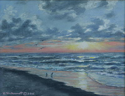 Painting - Myrtle Beach Sunrise by Kathleen McDermott