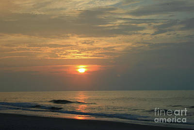 Photograph - Myrtle Beach Sunrise by Tony Baca
