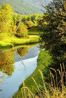 Photograph - Myrtle Creek In August by Albert Seger
