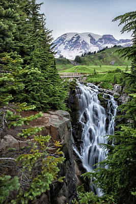 Photograph - Myrtle Falls by Belinda Greb
