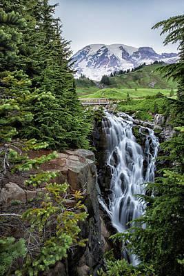 Photograph - Myrtle Falls by Belinda Greb