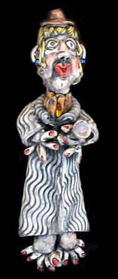 Ceramic Art - Myrtle by Judy  Hensley