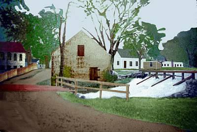 Digital Art - Myrtle St Ashland C1880 by Cliff Wilson