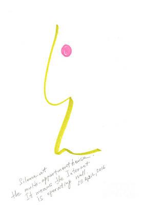 Everyday Life Drawing - Myselfie. 23 April, 2016 by Tatiana Chernyavskaya