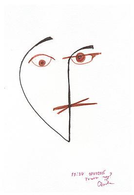 Everyday Life Drawing - Myselfies. 10 September, 2015 by Tatiana Chernyavskaya