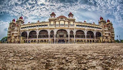 Photograph - Mysore Palace by Chris Cousins