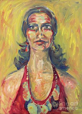 Painting - Mysteries Of Loretta by Karen Adams