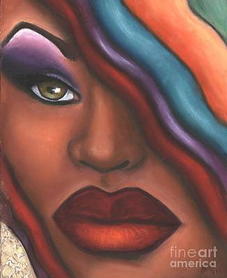 Mysterioso Too Art Print by Alga Washington
