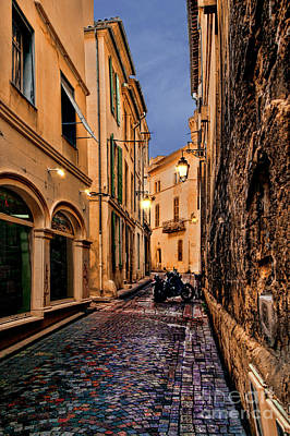 Photograph - Mysterious Alley In Avignon by Kay Brewer