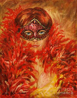 Painting - Mysterious Beauty by Dariusz Orszulik