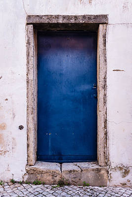 Mysterious Blue Door Original by Marco Oliveira