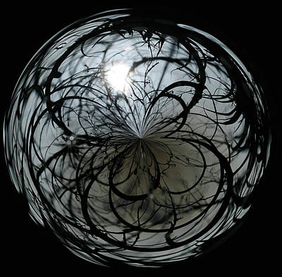 Photograph - Mysterious Orb by Cindi Ressler