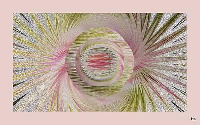 Digital Art - Mysterious Orchid by Halina Nechyporuk