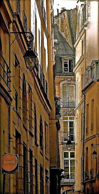 Mysterious Paris Original by Ira Shander