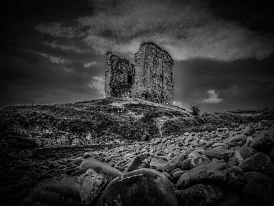 Mysterious Past Bw. Art Print by Leif Sohlman