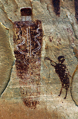 Mysterious Pictographs Of Horseshoe Canyon Original by Ron Brown Photography