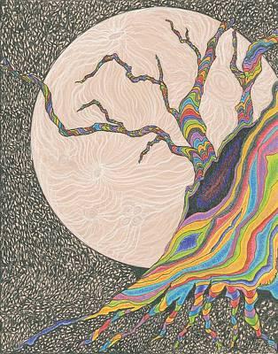 Mysterious Universe Art Print by Rachel Zuniga