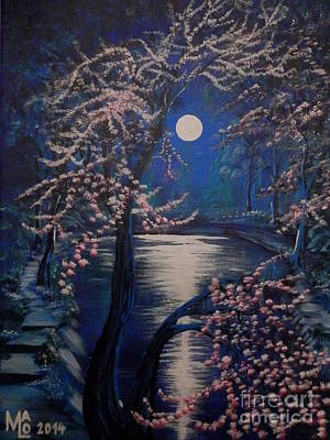 Inner World Painting - Mystery At Moonlight 2 Series by Mario Lorenz