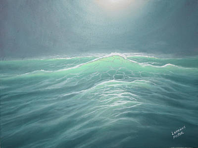 Mystery At Sea Art Print by Lorraine Foster