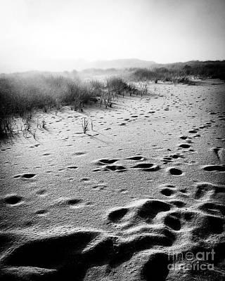 Mystery Beach Art Print by JMerrickMedia