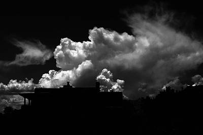 Photograph - Mystery Clouds by Joseph Frank Baraba
