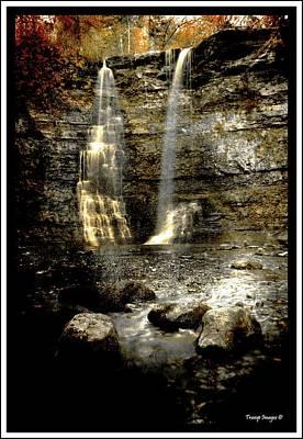 Photograph - Mystery Falls by Wesley Nesbitt
