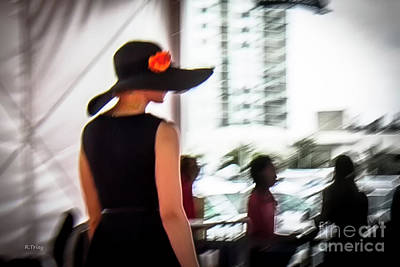 Photograph - Mystery Lady by Rene Triay Photography