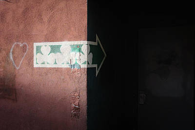 Photograph - Mystery In The Doorway by Monte Stevens