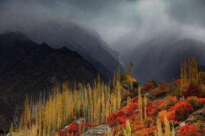 Photograph - Mystery Mountains by Awais Yaqub